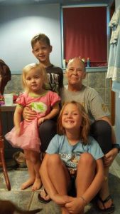 Deb Donovan with children