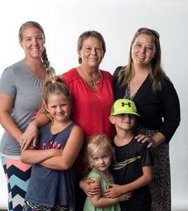 Deb Donovan Family