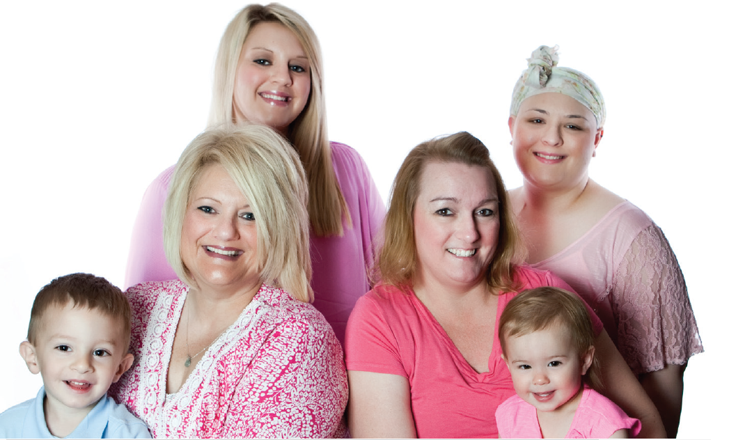 Breast cancer genetic testing is changing this family's future