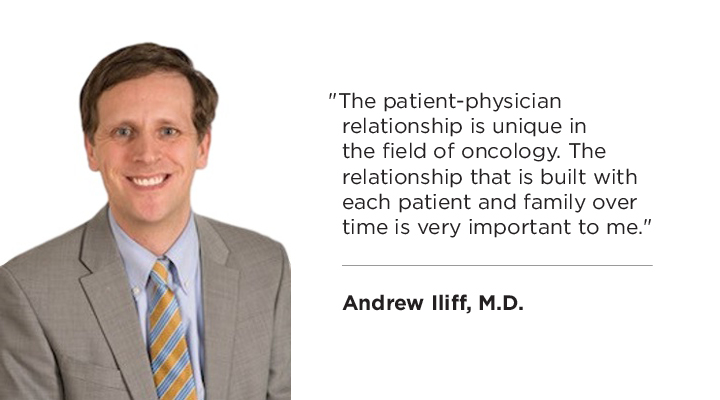 Meet MCA's new medical oncologist Dr. Andrew M. Iliff
